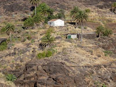 Paysage montagneux dans le sud de Gran Canaria