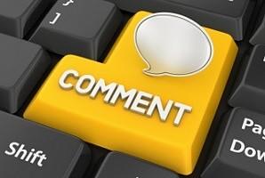 Politique commentaires du blog