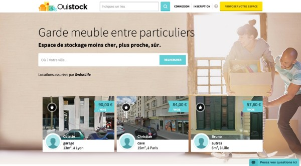 Homepage Ouistock