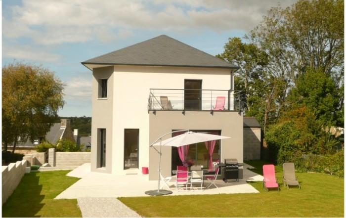 Construction de notre maison dans le Finistère – Location saisonnière