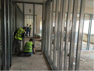 Travaux conversion immeuble bureaux habitation