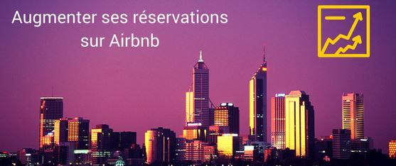 Augmenter réservations revenus airbnb