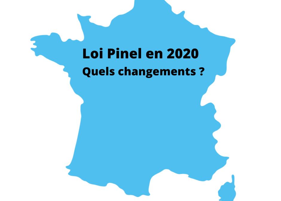 Loi Pinel : quels changements pour 2020 ?